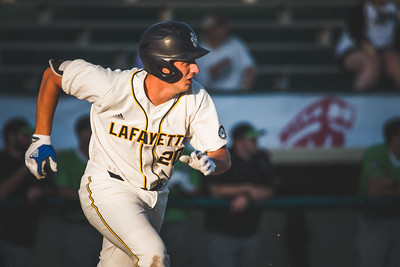 The Lafayette Aviators take on the Springfield Sliders at Loeb Stadium on June 1, 2018.
