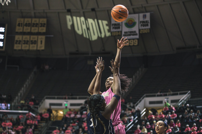 Purdue takes on Penn State in Mackey Arena on January 28, 2018