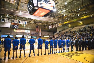 Indiana State takes on Valparaiso at the Atheletics Recreation Center in Valparaiso, Indiana on January 31, 2018.