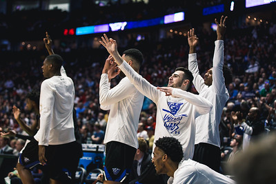 Georgia State takes on Cincinnati in the 1st round of the NCAA Tournament at Bridgestone Arena on March 16, 2108.