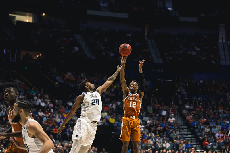 Nevada takes on Texas in the 1st round of the NCAA Tournament at Bridgestone Arena on March 16, 2108.