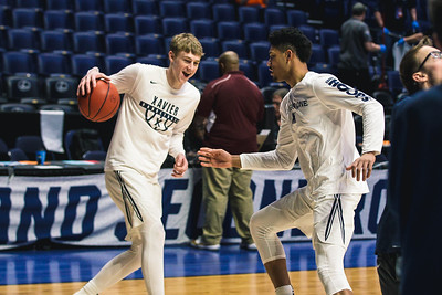 Xavier takes on Texas Southern in the 1st round of the NCAA Tournament at Bridgstone Arena on March 16, 2108.