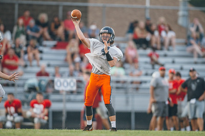 West Lafayette football and Harrison football scrimmage at Gordon Straley Field on August 11, 2018.