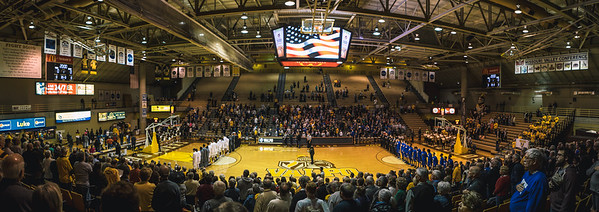 Indiana State takes on Valparaiso at the Atheletics Recreation Center in Valparaiso, Indiana on January 31, 2018.