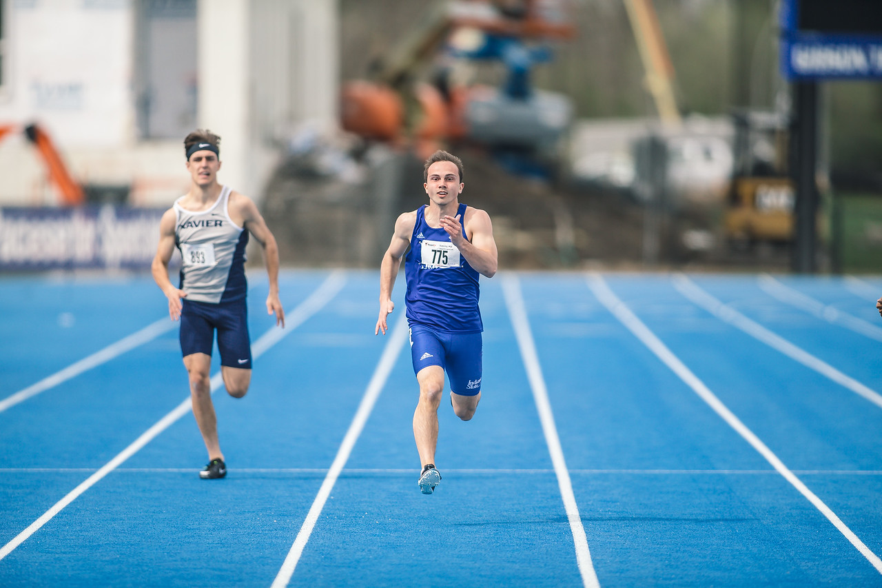 Indiana State track and field at the Pacesetter Invitational on April 21, 2018.