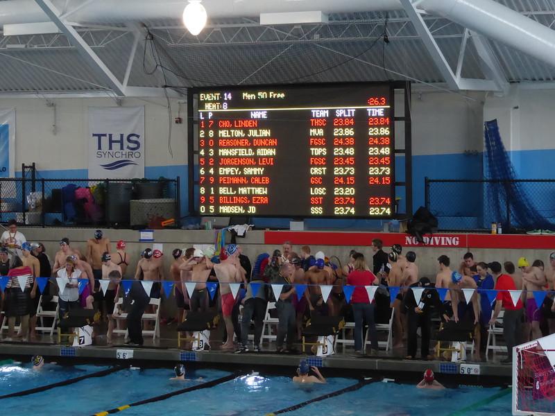 Regional Swim Championships, Tualitin, OR