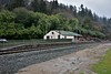 The former station at Woodenbridge. The station was the junction for the railway to Shillelagh which opened in May 1865. The branch was officially closed in 1953 and the station here was closed in March 1964. Mon 02.04.18