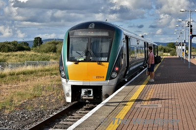 22049 at Limerick Jct. after arriving with the 1750 from Limerick. Thurs 09.08.18