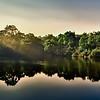 Blackburn Lake in the morning