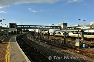 Overview of Drogheda Depot. Sat17.02.18