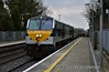 231 arrives at Portlaoise with the 1400 Heuston - Cork. Fri 23.02.18