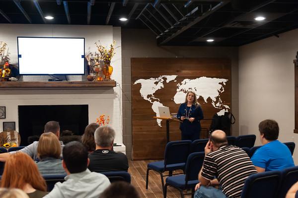 5th Sunday Seminar Belinda Spurgin