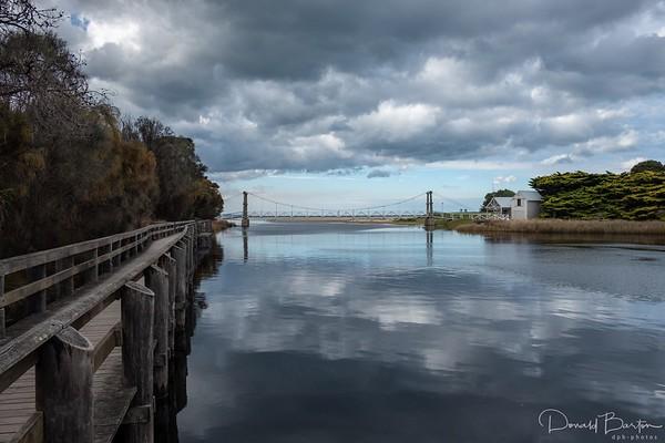 Erskine River Suspension Bridge