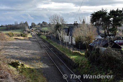 The former station at Clareabbey. It closed in 1963 and is now in private owndership. Sat 13.01.18