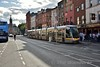 4012 arrives at Parnell Street. This tram is also on loan from the Red Line. Sat 07.07.18