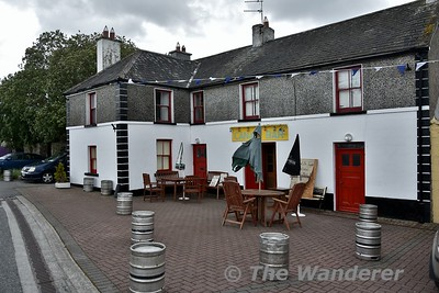 The Canal Bar at Shannon Harbour during the Rally weekend. Sat 16.06.18