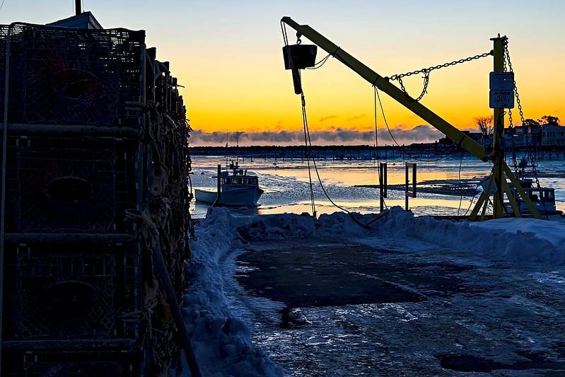 Rye Harbor Dawn