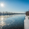 Wabash River Icy