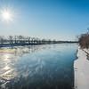 Wabash River Icy