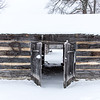 Fowler Park Vigo County Parks Department Snow January 15, 2018