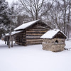 Fowler Park Vigo County Parks Department Snow January 15, 2018