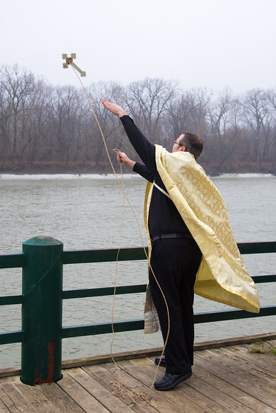 Blessing of the Wabash River  St. George Orthodox Church