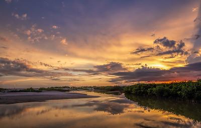 Sunset Serenade I
