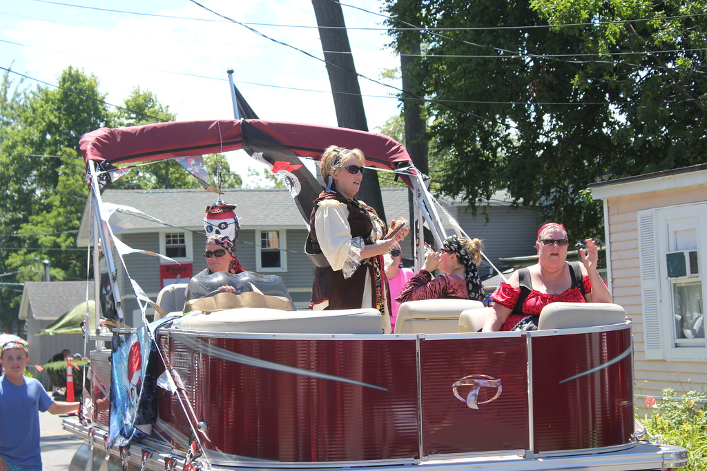 . Charles Pritchard - Oneida Daily Dispatch Pirates invade Sylvan Beach for Pirates Weekend on Saturday, July 21, 2018.