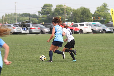 (400pm-8) Indiana Fire Juniors 05G Red (IN) Vs Lexington Football Club 2005 Red (KY)