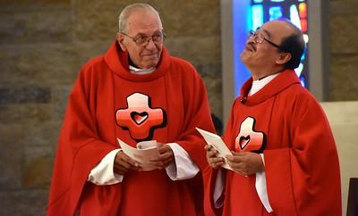 Fr. Richard and Fr. Quang