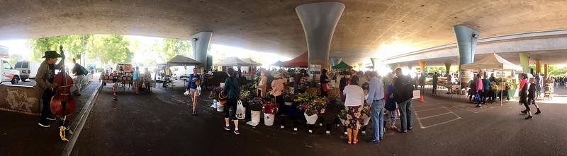 farmer's market pano