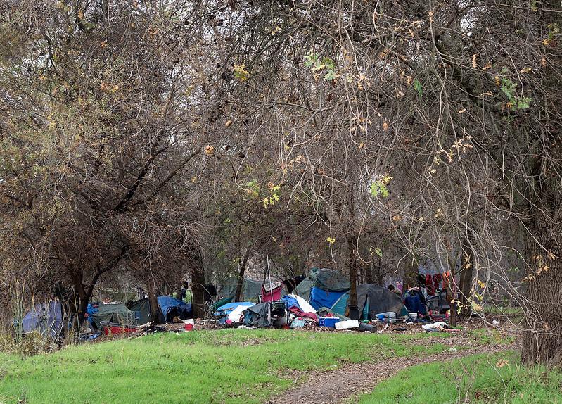 homeless camp