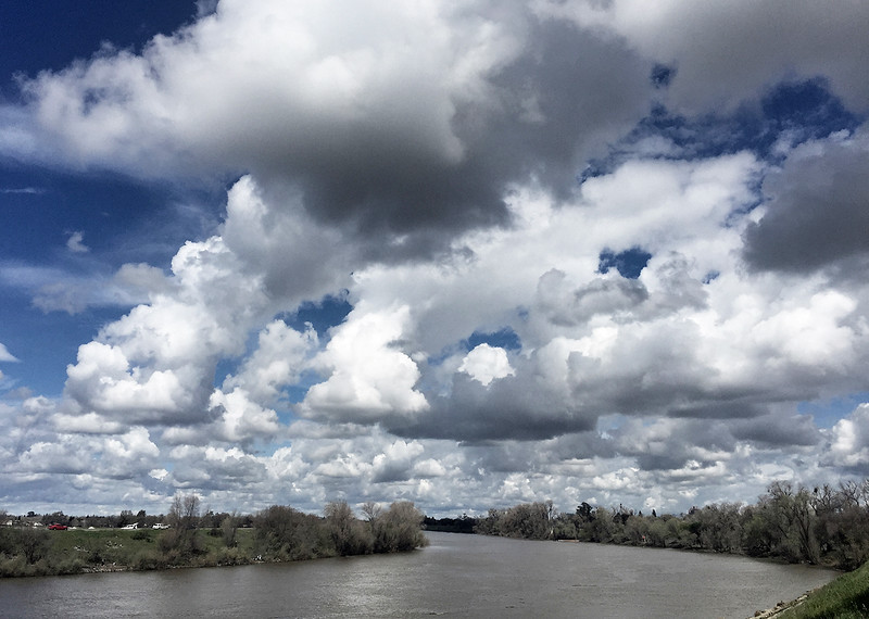 river clouds