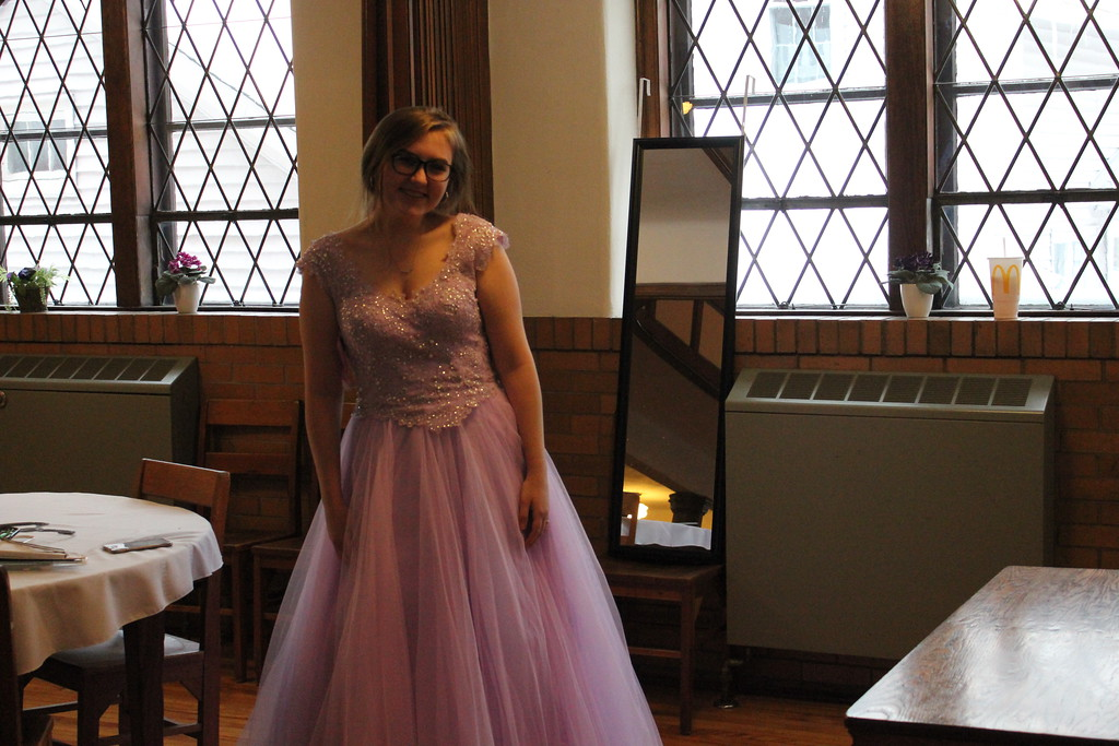 . Charles Pritchard - Oneida Daily Dispatch Autumn Naylor, 17, finds the perfect dress at The First Presbyterian Church of Oneida�s Prom Dress Giveaway on Saturday, Feb. 10, 2018.
