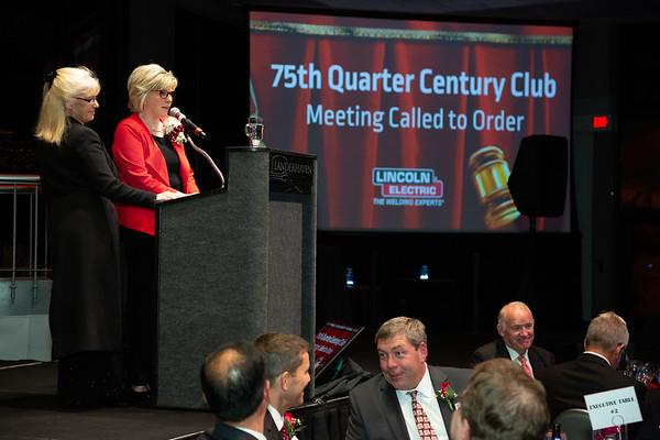 2018 Quarter Century Club Dinner