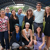 2018 RESESS interns Adelicia, Gabriela, Haley, Beth, Zachary, Jordan, Teodora, and Joel with assistants Megan and Emily after the end of summer poster session.  August 2, 2018.  Boulder, Colorado.  (Photo/Daniel Zietlow, UNAVCO)
