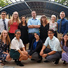 2018 RESESS and GeoLaunchpad interns after presenting at the end of summer poster session.  August 2, 2018.  Boulder, Colorado.  (Photo/Daniel Zietlow, UNAVCO)