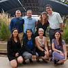 2018 RESESS interns Adelicia, Gabriela, Haley, Beth, Zachary, Jordan, Teodora, and Joel after presenting at the end of summer poster session.  August 2, 2018.  Boulder, Colorado.  (Photo/Daniel Zietlow, UNAVCO)
