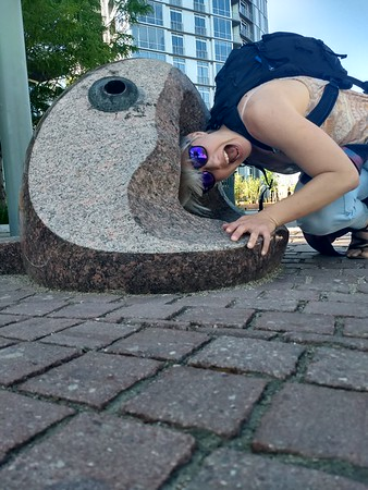 Haley Gets Eaten by a Fish