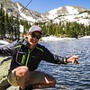 First time fly fishing was a success out at Diamond Lake, CO.