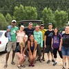 RESESS Interns out at Clear Creek for a rafting excursion.