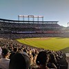 Spectating the Rockies vs Dodgers at the Coors Stadium