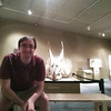2018 RESESS intern Jordan at the University of Colorado, Boulder's Museum of Natural History. Boulder, CO, July 3, 2018.  (Photo/Jordan Wachholtz)