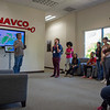 2018 RESESS and SOARS interns tour the UNAVCO facility and learn about GPS, TLS, and communication during Orientation Week.  May 23, 2018.  Boulder, Colorado.  (Photo/Melissa Weber, UNAVCO)