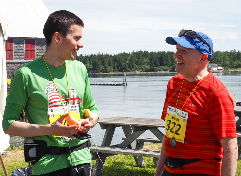 2018 Bay of Fundy International Marathon/Half-marathon/Ultra-marathon/10K. Photo: Jeanne Drews.