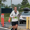 Kelly Duffy, overall women's winner of the ultra-marathon. Photo credit: Lisa M. Dellwo