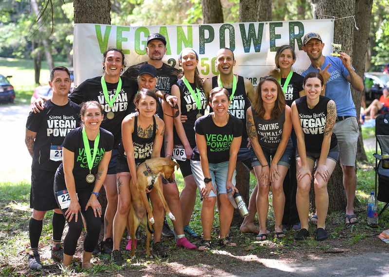2018 Vegan Power 50K and 25K Trail Races