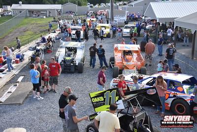"7/6/18 Big Diamond Speedway ""B&H Landscaping Night. Georgie/George Stevenson Memorial"""