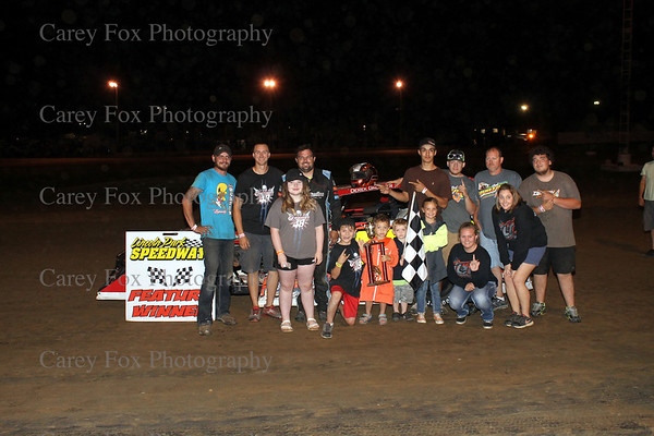 June 23, 2018 - Sprints and Modifieds