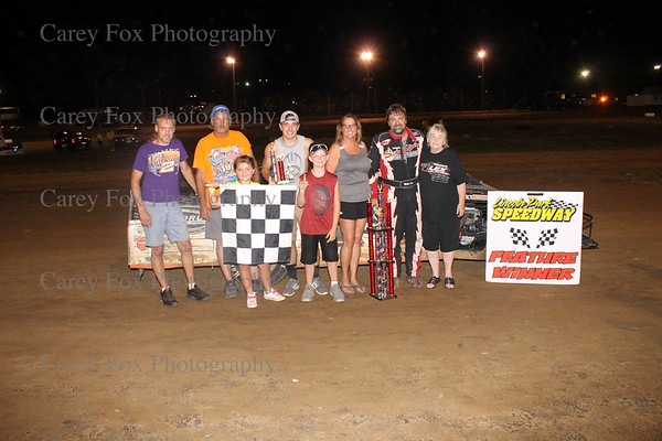 June 30, 2018 - Sprint cars and Topless Modifieds
